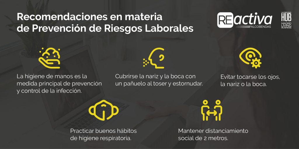 Prevención de Riesgos Laborales: recomendaciones para la vuelta a la nueva normalidad