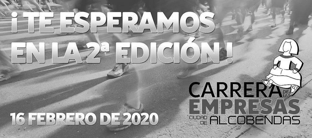 """II Carrera de las empresas """"Ciudad de Alcobendas 2020""""."""