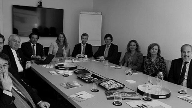 ALCOBENDAS HUB se reúne con la empresa griega IKOS