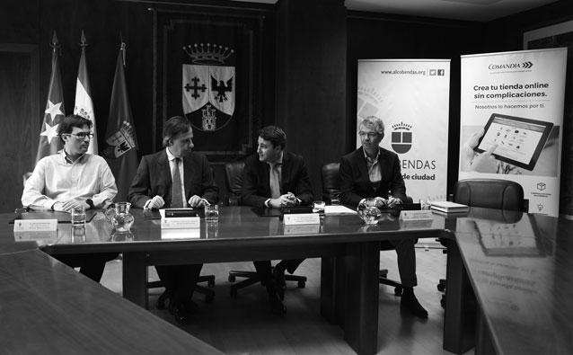 Correos y el Ayuntamiento de Alcobendas acuerdan impulsar la modernización del comercio de Alcobendas a través de la venta online.