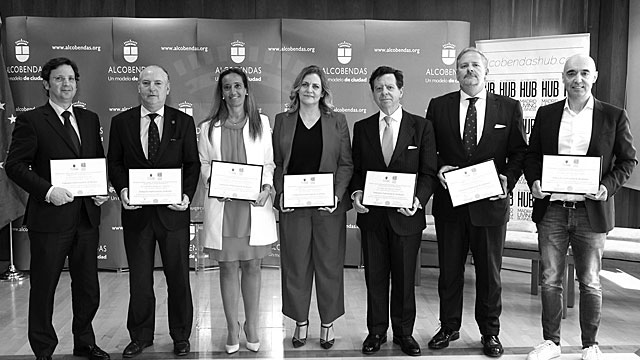 Alcobendas City Council and Alcobendas HUB appoint the first Business Ambassadors of Alcobendas